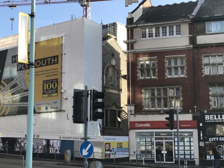 The property comprises a prominently positioned substantial commercial building with ground floor A1 Retail/A2 Office premises, basement and 4 floors of office and storage accommodation above.  Prominently located on the eastern side of Drake Circus,...