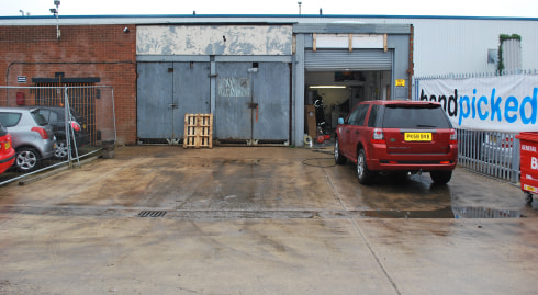 Industrial/Warehouse Unit  Total Size 491 sq ft (45.62 sq m)
