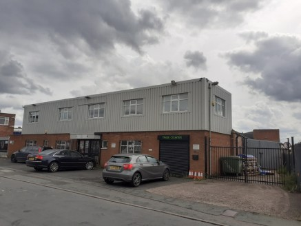The premises comprise an industrial building consisting of two bays to the rear with two storey offices to the front. The property benefits from yard space to the side and car parking to the front....
