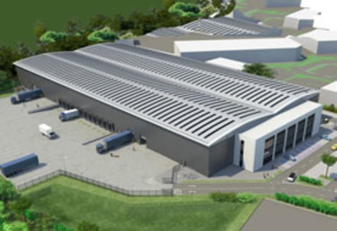 TO LET: Brand New Warehouse Premises 135,595 SQ. FT (12,596.8 SQ....