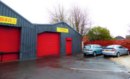 The property comprises a light industrial unit with brick/block elevations and a steel portal frame beneath under a pitched roof with translucent roof lights.   The site benefits from ample levels of parking for all occupiers and is fully fenced/gate...