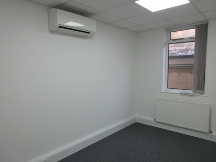 Self contained courtyard style offices with car parking