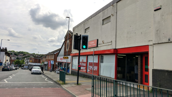 The property is located on Blackburn Street at the junction of Green Street in Radcliffe town centre, close to the A665 Pilkington Way.  The property comprises a combination of a flat-roofed 1970s retail unit. The property provides retail accommodati...