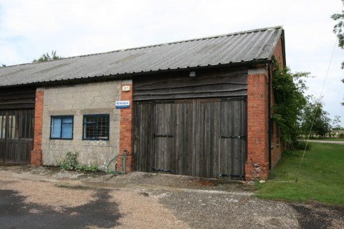 A lock up workshop with access to communal facilities