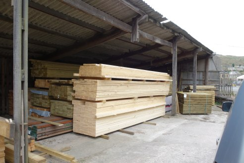 The property comprises of a small industrial complex, currently used as a saw mill and timber merchants.  The construction is primarily traditional, with generally timber framed drying shed structures, with mostly profile steel clad roofs which are s...