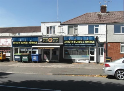 **DOUBLE FRONTED RETAIL UNIT TO LET**  A substantial showroom of approximately 2641sqft, benefiting from a prominent retail frontage, situated on a main road between Fishponds and Staple Hill.   Also available For Sale for �275,000. The lower floor i...