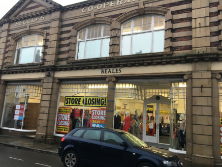 The property, a former department store comprises two linked  buildings on Smallgate of brick, two storey construction with glazed  elevations and a large single storey extension fronting Saltgate.  The accommodation provides predominantly open plan...