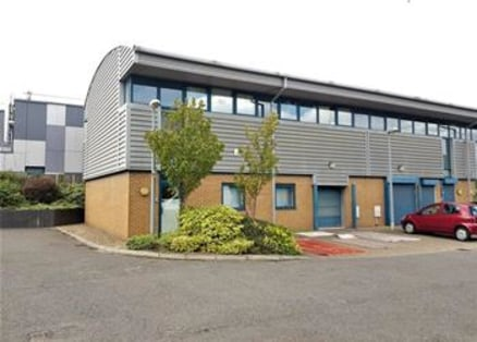 The premises comprise a modern end-of-terrace two storey hi-tech business unit which benefits from fully fitted first floor offices and a secure open-plan ground floor warehouse area. Access is via an up and over loading door serviced by a dedicated...