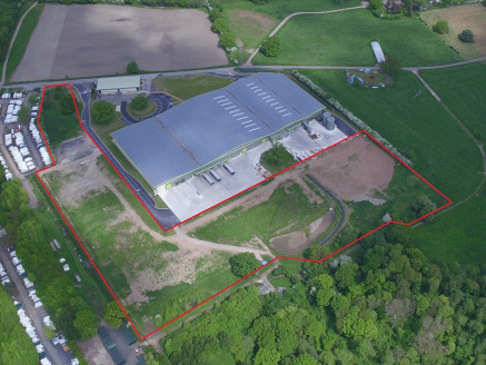 Fully serviced commercial development plots. Sites available from 1 acre up to 4 acres.