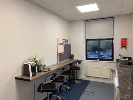 The available office suite is on the first floor of an imposing 3 storey office building of brick construction with a pitched slate roof. The accommodation provides the following features:  Passenger lift  Raised floors  Gas central heating  Suspende...