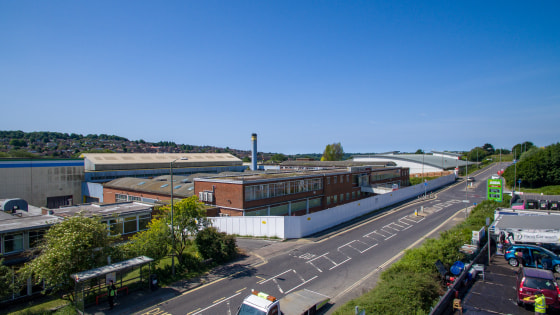1.5 Acre Commercial Development Site Close to A27  To Let / May Sell