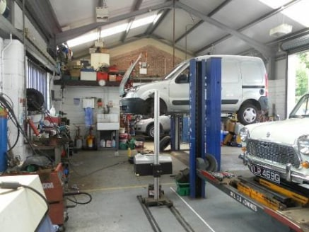 Petrol Station/MOT Station & Garage Services Located In Bromyard\nPotential Development Site For Dwellings (1 acre)\nRef 1074\n\nLocation\nThis outstanding concern is located on the southern edge of the town on the A465 which is a short distance from...