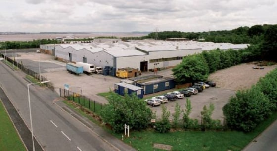 Industrial / Warehouse unit with yard  Dock and Level access loading  39,296 sq ft  Rent £137,500 per annum