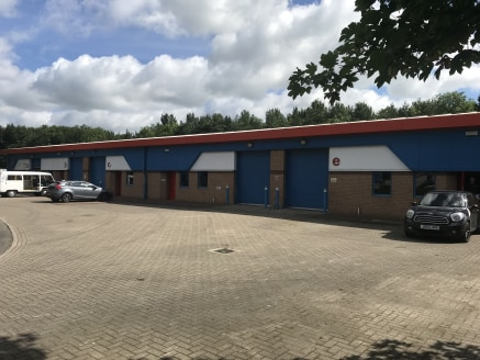 RENTS FROM £7300.00 PER ANNUM.  These newly refurbished units form part of a terrace and are of steel portal frame construction. Each unit contains a workshop area with concrete flooring, florescent tube lighting and roller shutter door. Carpeted off...