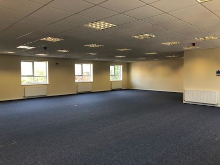 Description:\nThe property comprises a self-contained, open plan first floor office suite accessed via a shared entrance area. The premise benefits from the following characteristics;\n\n- Passenger lift (not tested)\n- Control pad entry system\n- Ma...
