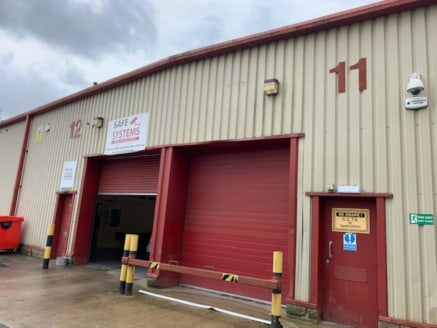 A series of modern industrial/production/warehouse units with offices, of steel portal frame construction, with uninterrupted manufacturing/warehouse space. Externally the units are clad with profile PVC coated metal sheeting, and loading is via an u...