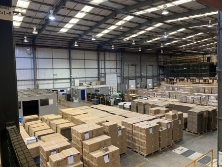 - 119,633 sq ft warehouse/distribution facility with additional mezzanine of 83,321 sq ft.  - Located on the premier distribution park in the North East of England.  - Ready access to the major road network and regions ports.  - Modern distribution u...