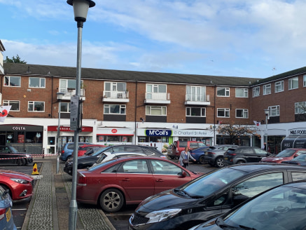 The property is located in a prime position at the beginning of High Street, by the zebra crossing leading from St Peter's Court with occupiers such as M & S Simply Foods and Costa, and its shoppers car park. It is close to the junction with Market P...