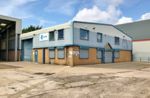 The property comprises a modern detached production warehouse incorporating two-storey offices, mezzanine stores and a substantial canopy, on a secure, self-contained site including yard and car parking areas.<br><br>The building is of steel portal f...