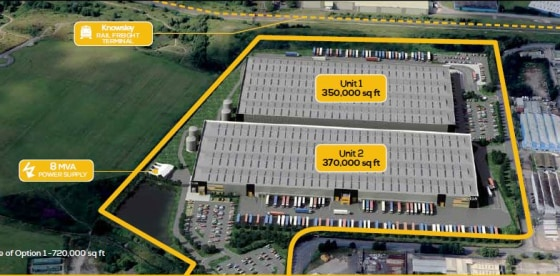 Outline planning consent in place. Up to 800,000 sq ft in a single unit. Serviced plot ready to develop. Substantial power availability. Rail freight terminal adjacent. Up to 35m eaves height. 20 minutes drive to Liverpool2 Deepwater Port. 15 minutes...