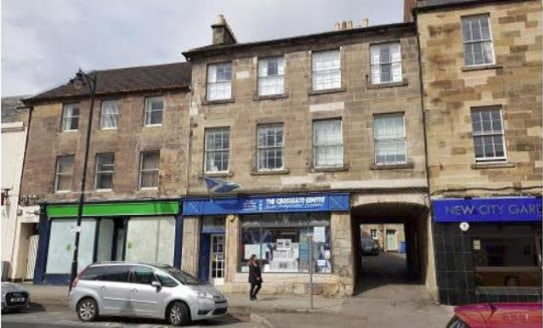 Shop Premises in Prime Town Centre Location with Potential for Class 3 Use Subject to Planning