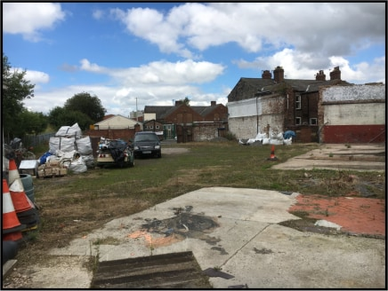 An open storage site with a small brick building which can be used as an office. There is also a toilet on site.  A caravan on site which can be left and used by way of a separate negotiation.  The site has previously been used for a variety of uses...