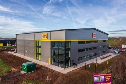 The Storage Boost Building is prominently situated on the new Redhill Business Park just off the A34 Stone Road and about two and a half miles from Stafford Town Centre. Junction 14 of the M6 Motorway is one mile distant and provides access to Manche...
