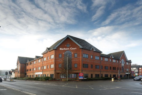 Blenheim Court is a high quality office head-quarters building occupying an extremely prominent location in the principal office area of the town centre, close to Banbury railway station. There is currently one suite available at the property on the....