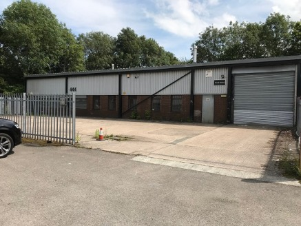 The unit comprises of an end terrace single storey self-contained industrial unit of steel portal frame construction which benefits from the following:  * Painted blockwork walls   * Insulated profile metal cladding to the eaves and roof   * 10% tran...