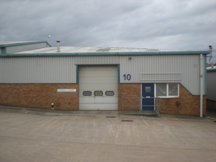 Modern single storey industrial unit situated on an established industrial estate with CCTV and security patrols. The unit has an up and over loading door and forecourt car parking/servicing....