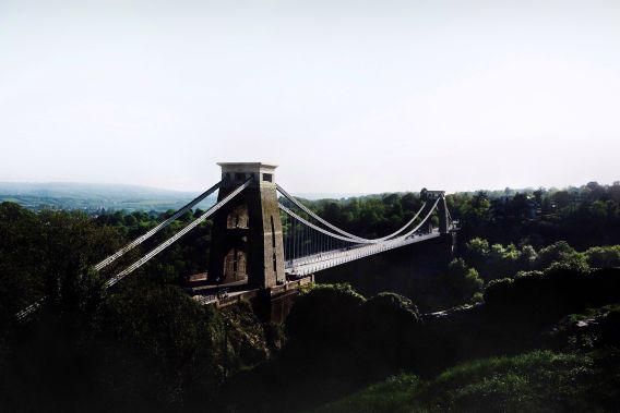 Photograph of Clifton Suspension Bridge in Bristol