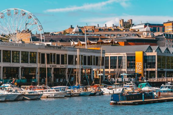 Photo of Bristol harbourside during the day