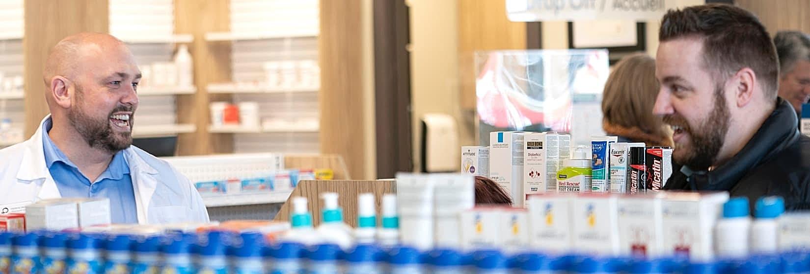 Prescription dispensing, Harrisville Pharmacy, Moncton