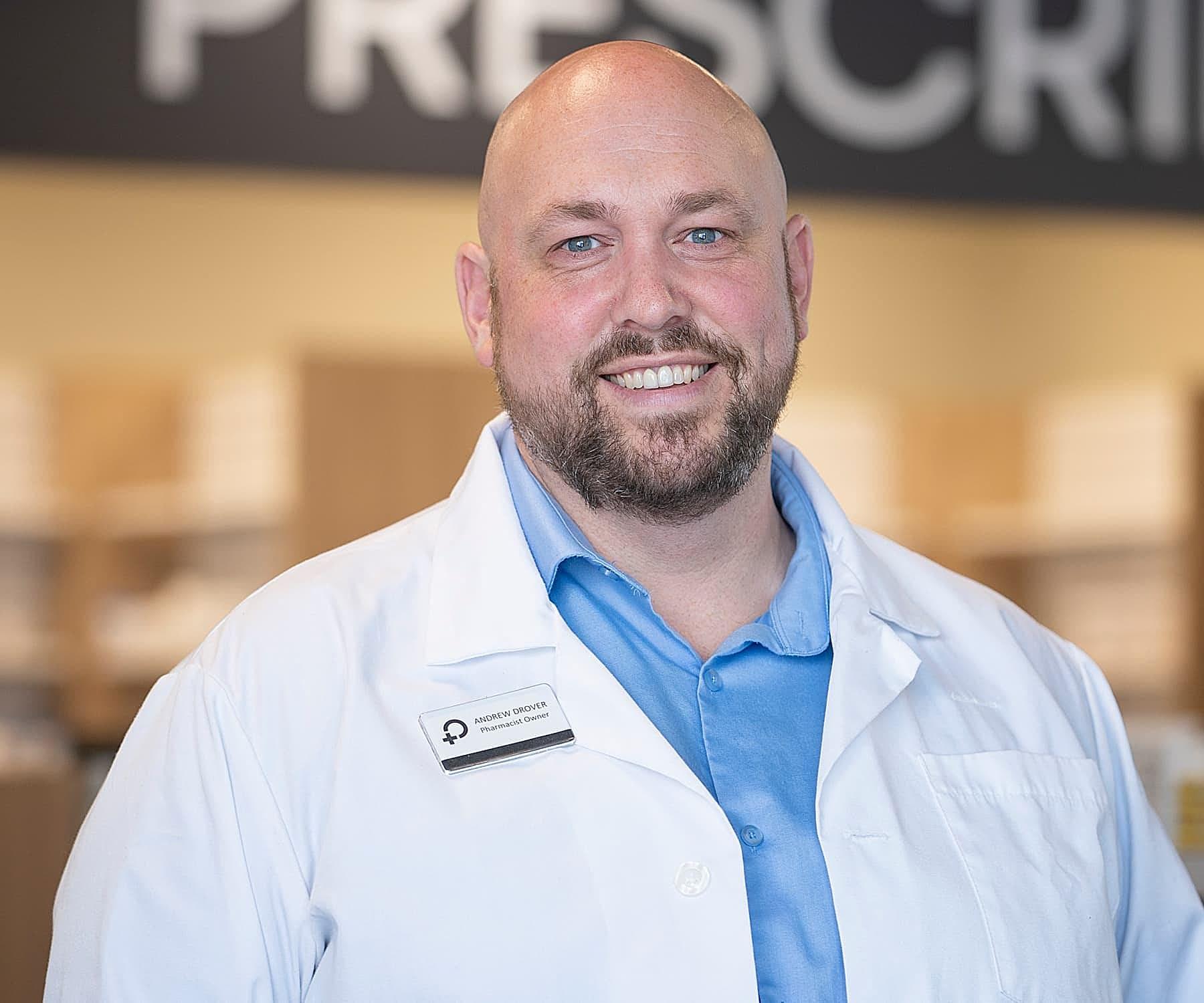 Andrew Drover Moncton Pharmacist