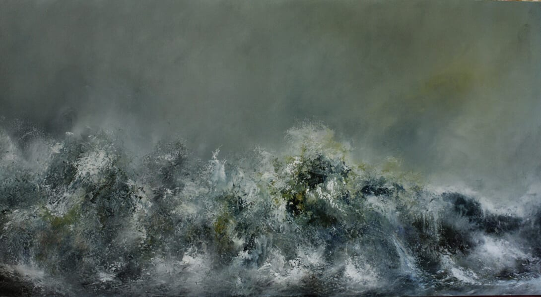 The Great Wind Grapples the Wave and Dapples the Dead Green Floor, 2010
