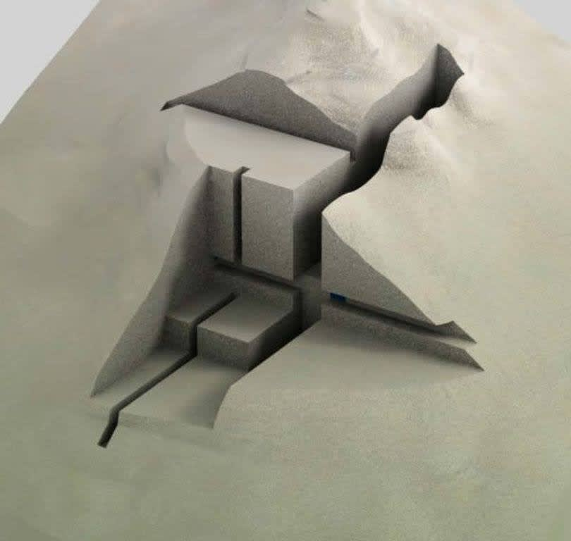 Geometric sand
