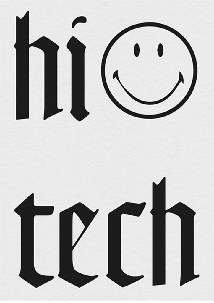 Hi tech smiley
