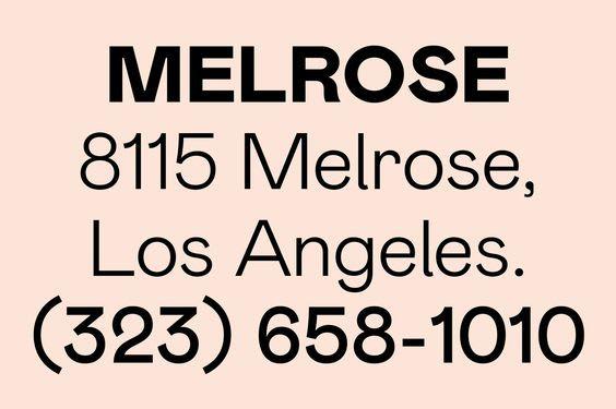 Melrose Type