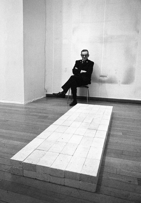 Carl Andre Equivalent VIII 1966