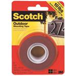 Scotch Heavy-Duty Interior Exterior Mounting Tape