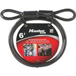 MASTER LOCK 78DPF 6' STEEL CABLE