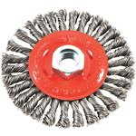 Forney Twist Knot Angle Grinder Wire Wheel