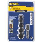 Irwin BOLT-GRIP 6-Piece Impact Bolt Extractor Set