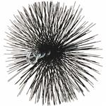 Round Wire Chimney Brush