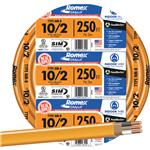 SOUTHWIRE 28829055 250' 10-2 NMW/G WIRE
