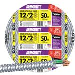 12/2 Aluminum Armored Cable