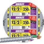 SOUTHWIRE 68580055 250' 12/2 MC ALUM CABLE