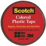 Scotch Colored Plastic Tape