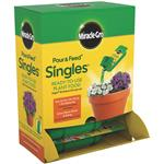THE SCOTTS CO. 3100010 SINGLES POUR PLANT FOOD