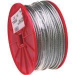 APEX COOPER CAMPBELL 7000627 3/16 CABLE,UNCOATD 250'